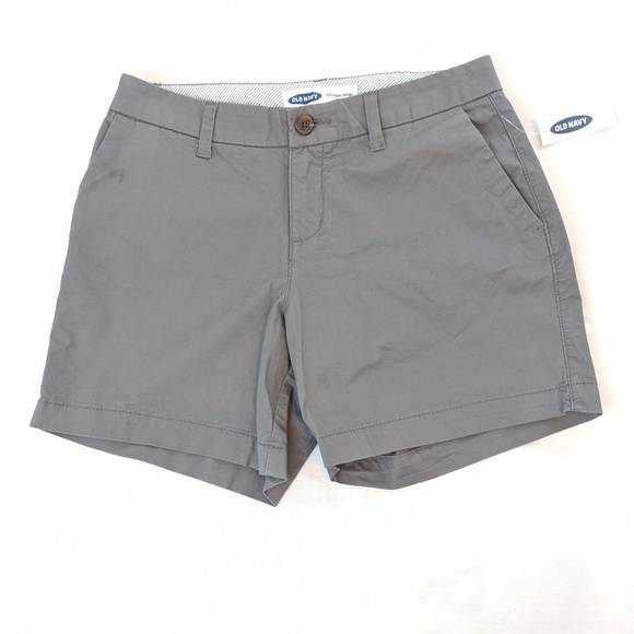 Old Navy Pants - Old Navy Everyday Short Gray - NEW
